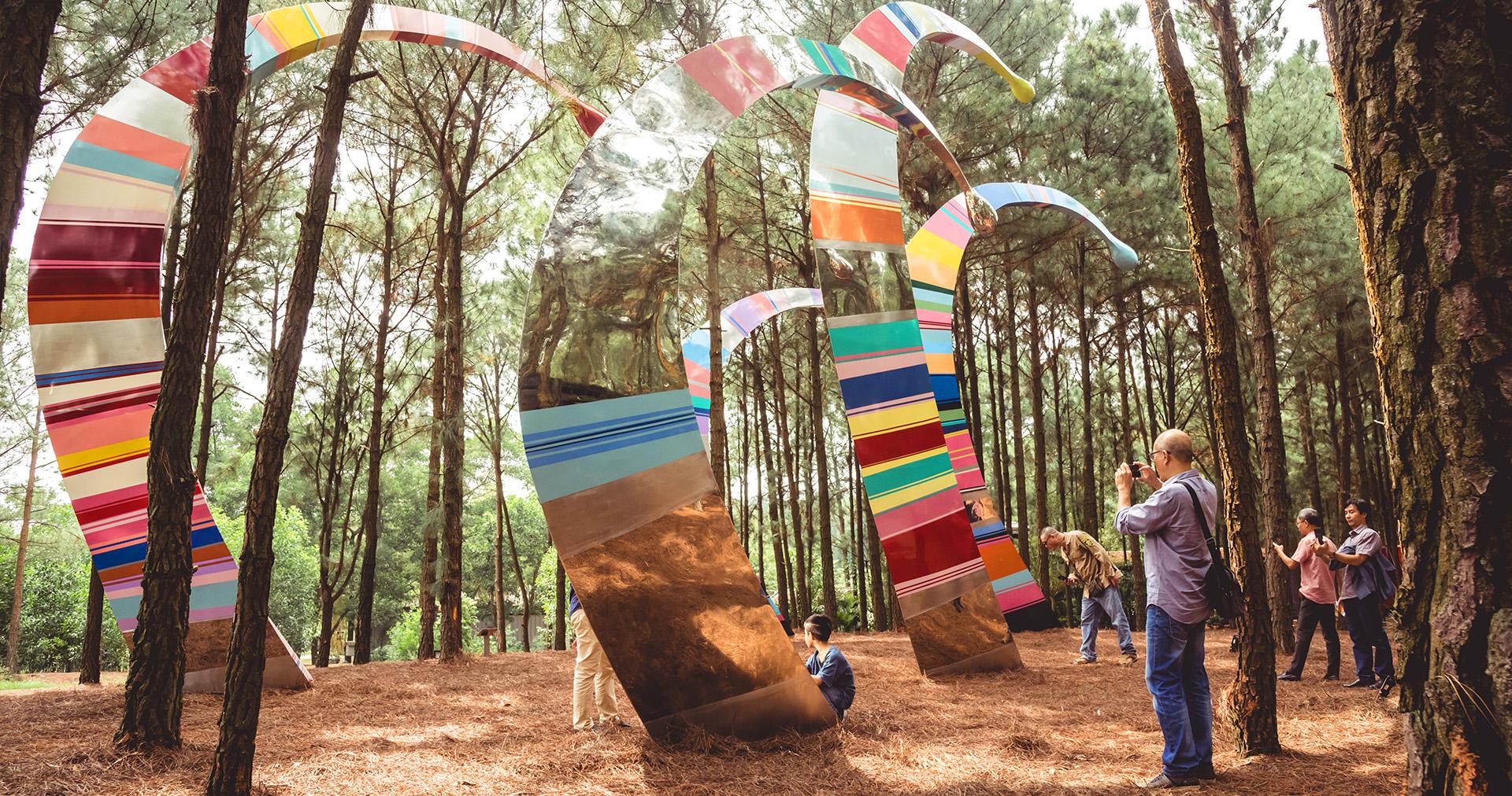 ART IN THE FOREST SUMMER – 2019: dưới ánh mặt trời